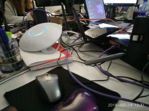 intalacion eventos unifi wifi