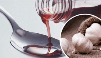 Часник, вимочений у червоному вині, лікує понад 100 захворювань!