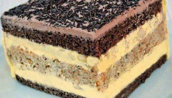 Ніжний та вишуканий торт «Вогні Парижу»
