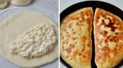 Покроковий рецепт приготування простого і швидкого хачапурі
