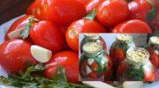 Квашені помідори з гірчицею в банках – від бочкових не відрізнити. Всі знайомі просять цей рецепт