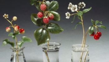 Ювелірні шедеври – кам'яні квіти Фаберже