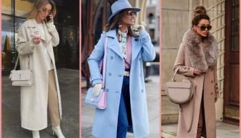 16 привабливих і статусних прикладів як і з чим носити світле пальто
