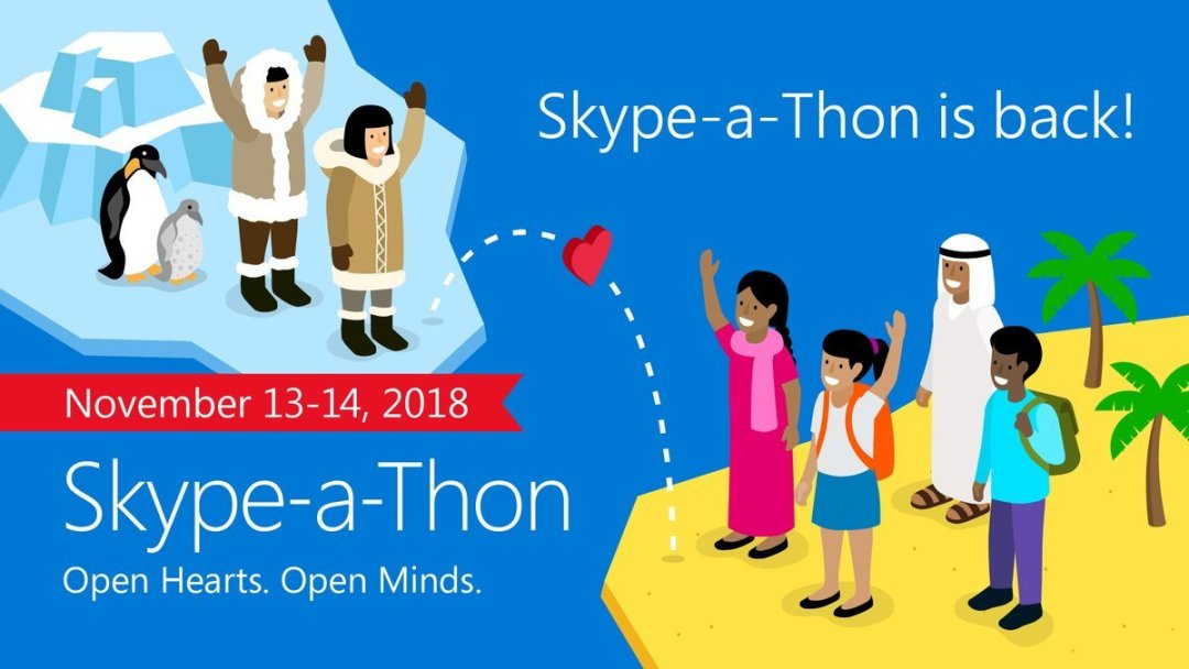 Cara menyertai global skype-a-thon education 2018
