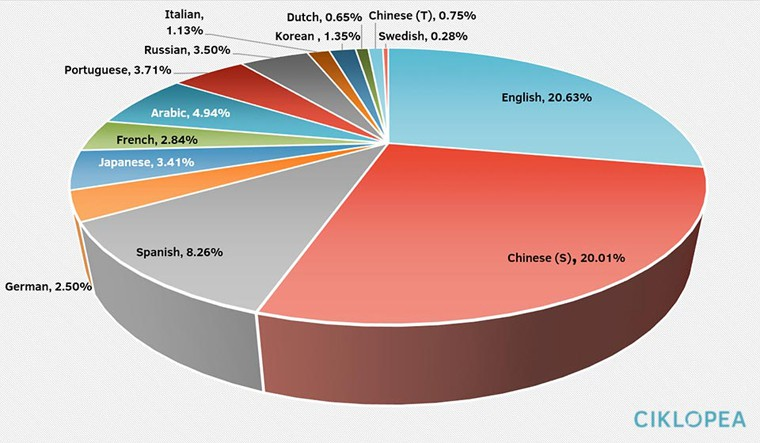 Top online languages Localization and ROI: A Very Happy Marriage