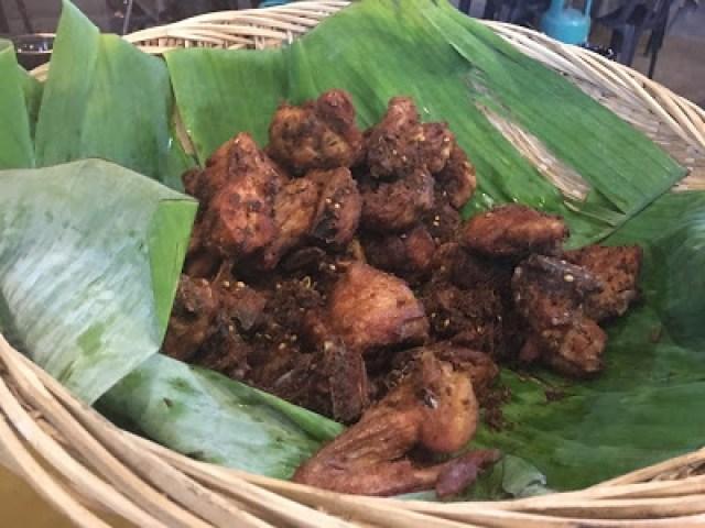 Ayam Kampung Goreng Berempah - D'kayangan Grill BBQ Steamboat