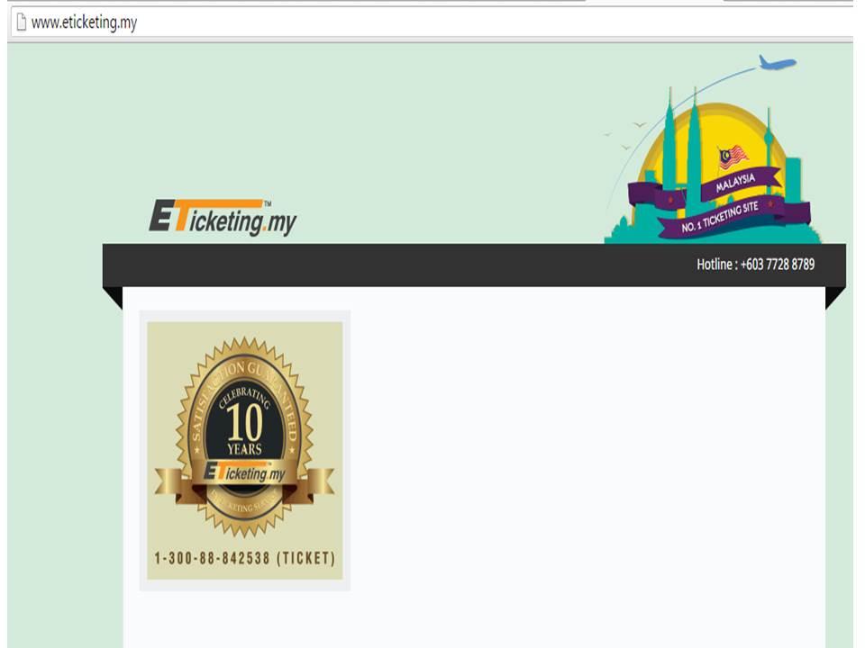E-Ticketing My - Tiket Bas Online