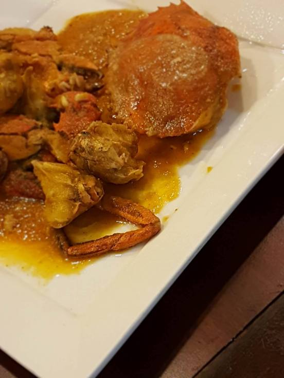 Salted Egg York Crab | Eastern Crabs Restaurant