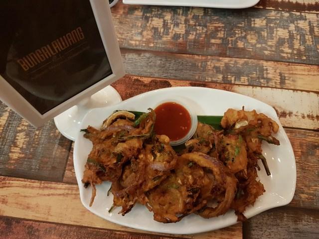 Cucur Ikan Bilis | Bunga Lawang Cafe, Bangi