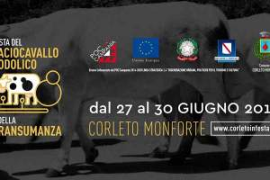 Corleto Monforte, Festa del Caciocavallo Podolico e della Transumanza 2019 – dal 27 al 30 Giugno 2019