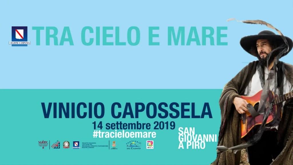tracieloemare - S. Giovanni a Piro - Escursione concerto con Vinicio Capossela - 14 settembre 2019