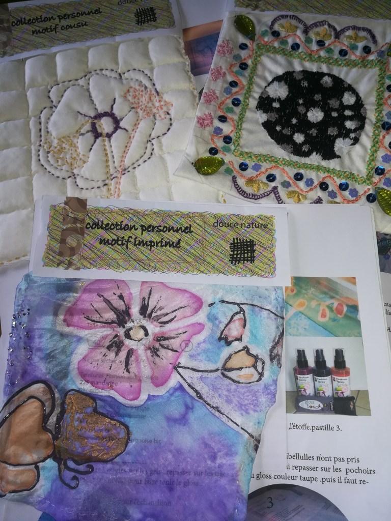 créations de textile fait main
