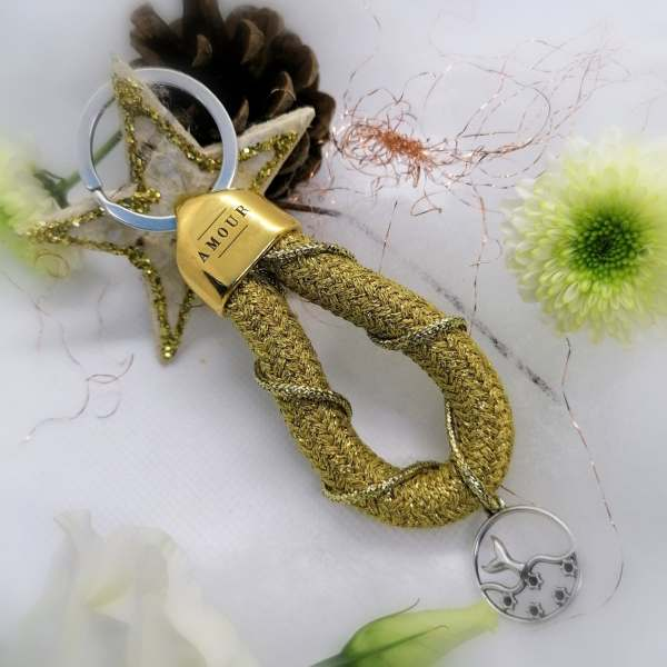 porte clef anneau marin