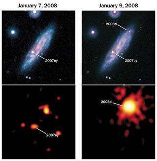 süpernova süpernovalar