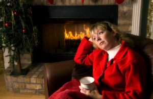 a mom by the fire remembering