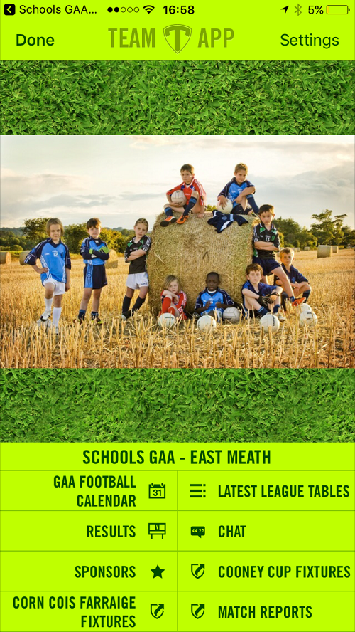 Download New East Meath Schools GAA App