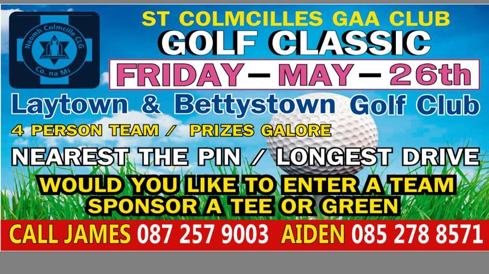 Golf Classic – 26th May