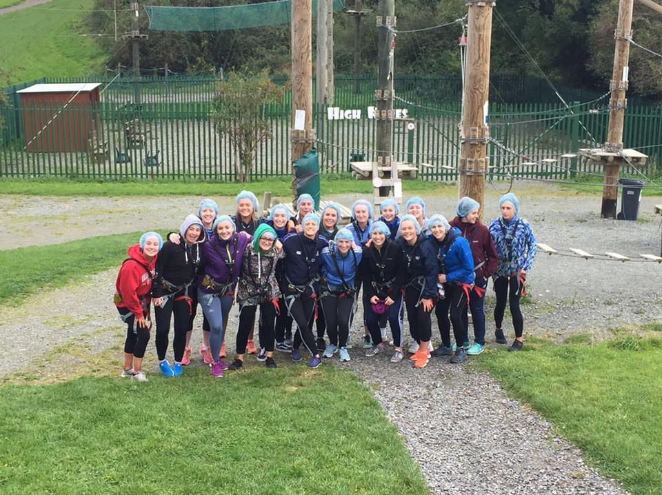 Cilles Ladies team building