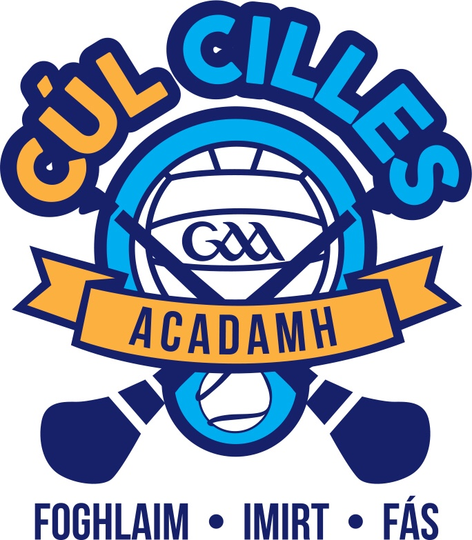 Cúl Cilles Logo Irish Colour