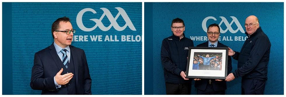 Meath GAA - St Colmcilles - President John Horan