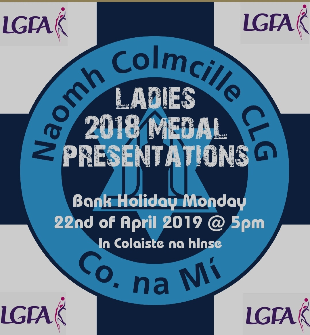 Medal Presentation – 2018 Ladies