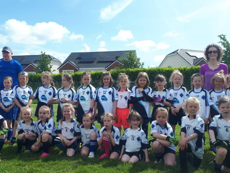 Under 7 Girls Donaghmore, Ashbourne V Colmcilles