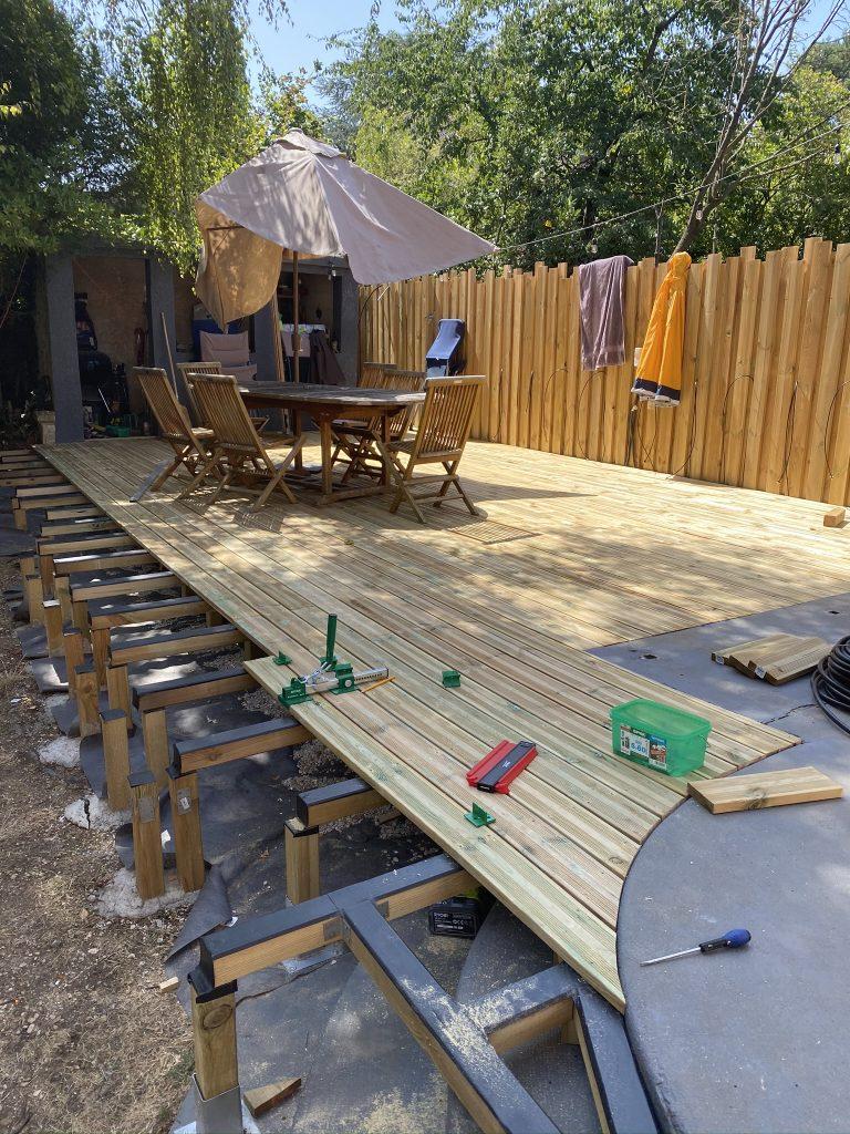 Construire Sa Terrasse En Bois : construire, terrasse, Construire, Terrasse, Ciloubidouille