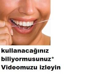 Diş ipini nasıl kullanacağınızı biliyormusunuz?