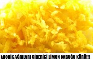 KRONİK AĞRILARA LİMON KABUĞU KÜRÜ