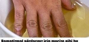Ramatizmal ağrılar için kür tarifi