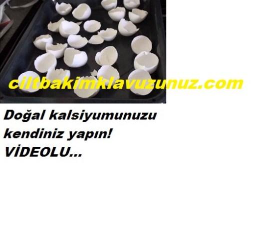 Yumurta kabuklarından doğal kalsiyum nasıl yapılır