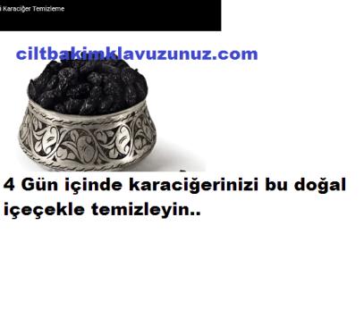 Read more about the article 4 Günde Karaciğeri Temizleyen Kür