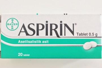 Aspirin adet söktürücü olarak kullanılır mı