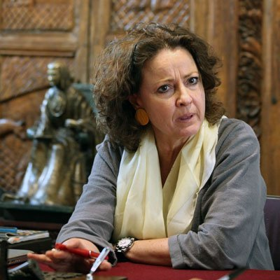 Carmen Beatriz López-Portillo, rectora de la Universidad del Claustro de Sor Juana