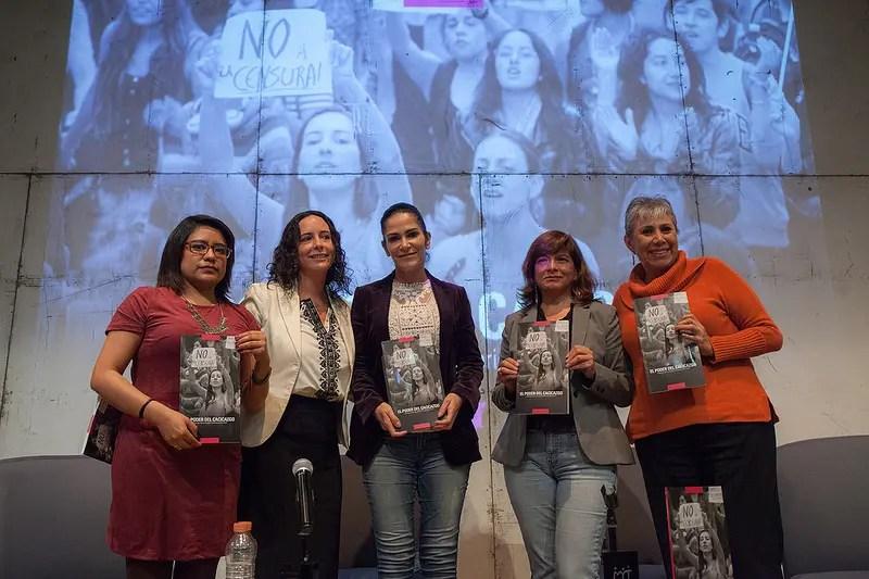"""Presentación del Informe """"El Poder del Cacicazgo"""" Violencia contra Mujeres Periodistas 2014-2015"""