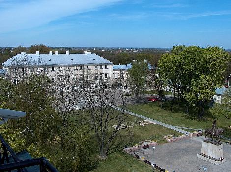El Palacio Zamoyski, Zamosc, Polonia Información Turística