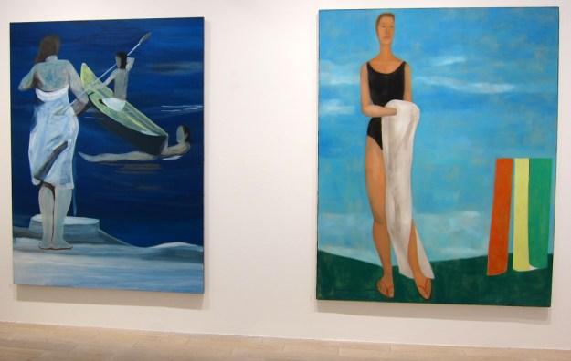 Marc Desgrandchamps à la galerie Zürcher