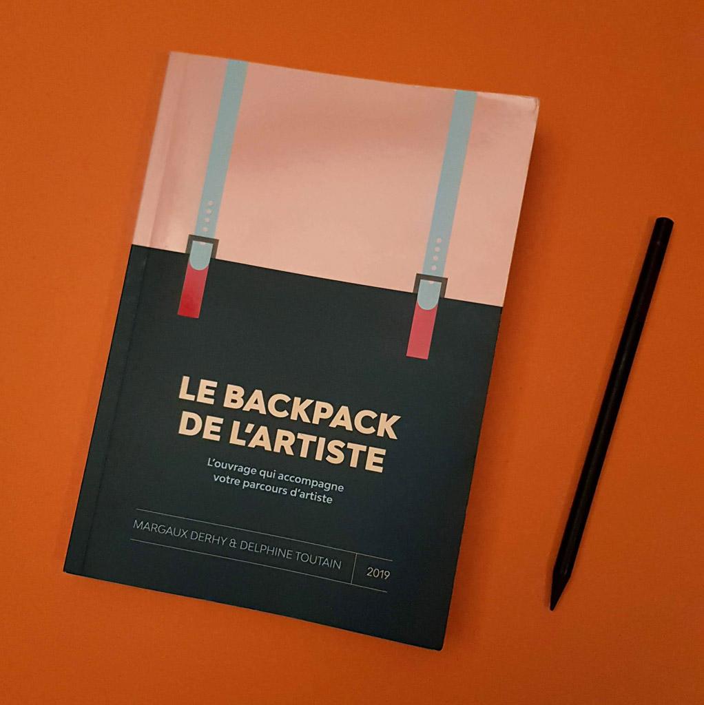 backpack de l'artiste guide pratique margaux derhy delphine toutain