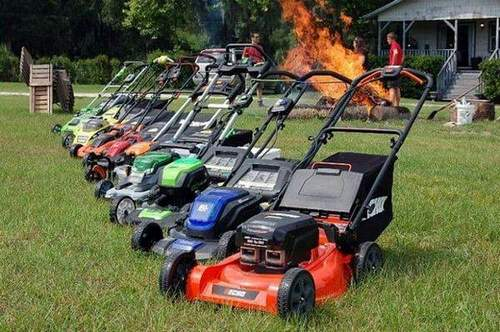 About the Trimmer Lawnmower: Garden Gasoline, Electric, and Battery