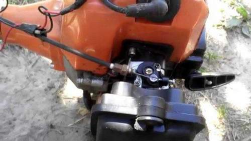 How To Adjust A Carburetor On A Chainsaw And Properly Set Idling Do It Yourself