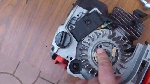 How To Adjust Ignition Trimmer Huter Video