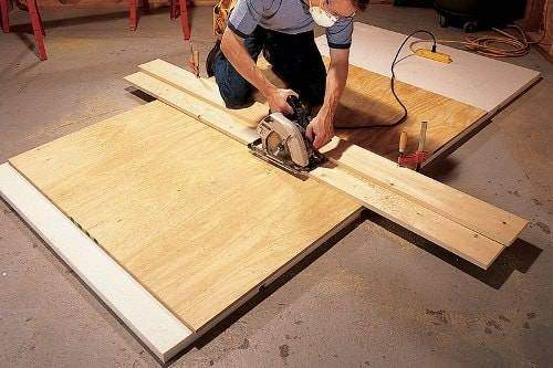 how to cut mdf wall panels