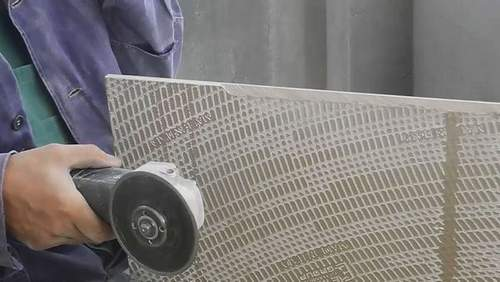how to cut tiles at 45 degrees angle grinder