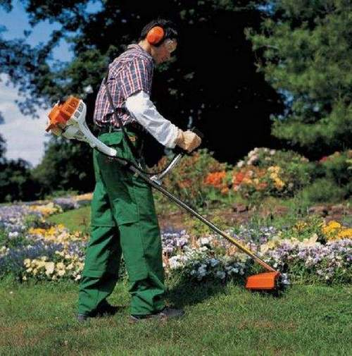 How To Give A Line To A Stihl Trimmer