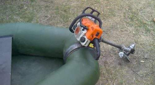How to Make a Boat Motor Out of a Chainsaw