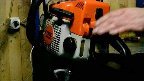 How To Start A Stihl Ms 180 Saw