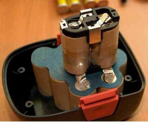 how to store a screwdriver battery