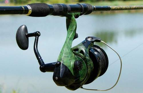 how to wrap fishing line on a trimmer spool