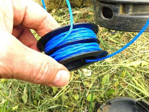 how to wrap fishing line on a trim reel