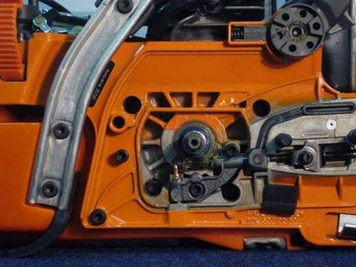 Husqvarna Chainsaw Chain Lubrication System